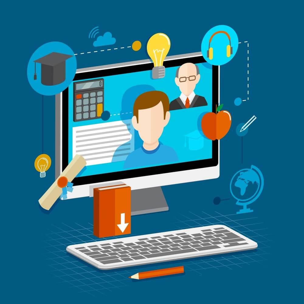Usos de infografías en las clases en línea